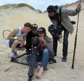 Shooting in Luskentyre