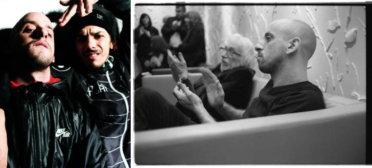 dDamage à gauche, JB-en_solo à droite. Vin Diesel version végétalienne, quoi.