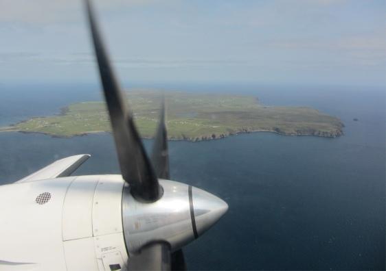 """En se concentrant, on peut entendre le """"ouf !"""" du photographe, voyant les îles disparaître enfin..."""